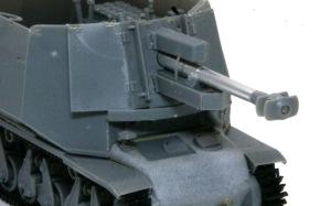 10.5cm榴弾自走砲39H(F) 車体前部の組立て