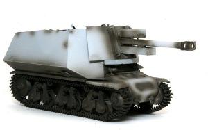 10.5cm榴弾自走砲39H(F) 影吹き