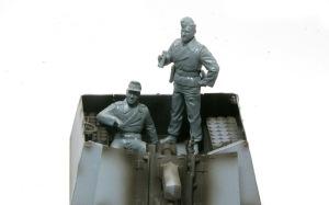 10.5cm榴弾自走砲39H(F) フィギュアの組立て