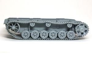 3号戦車J極初期型 履帯の組立て