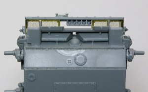 3号戦車J極初期型 溶接痕の追加