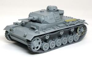 3号戦車J極初期型 組立て完了