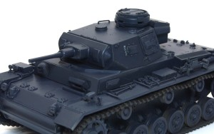 3号戦車J極初期型 デカールの下地づくり