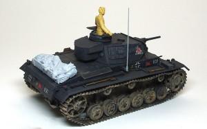 3号戦車J極初期型 フィギュアの準備