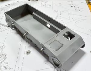 3号戦車B型 車体の組み立て