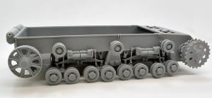 3号戦車B型 足回りの組み立て