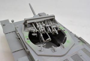 3号戦車B型 主砲と同軸機銃