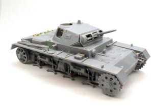 3号戦車B型 だいたい戦車の形になった