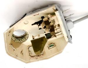 3号戦車B型 砲塔天板内側の塗装