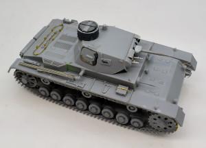 3号戦車B型 組立て完了