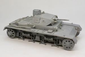 3号戦車B型 サフ吹き