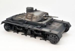 3号戦車B型 基本塗装(暗色)