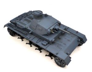 3号戦車B型 基本塗装