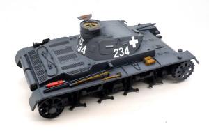 3号戦車B型 細部の塗分け