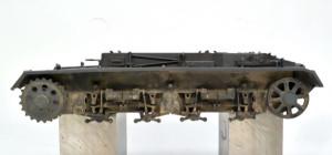 3号戦車B型 車体下部の汚し