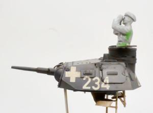 3号戦車B型 フィギュアの組立て