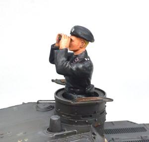 3号戦車B型 フィギュアの塗装