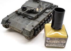 3号戦車B型 土埃汚れ