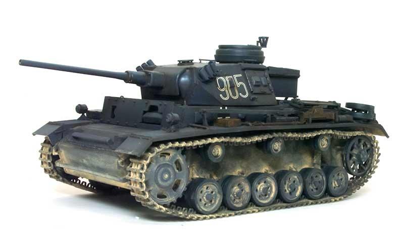 足まわりの組立て 3号指揮戦車K型