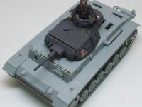 3号戦車に3号戦車の砲塔