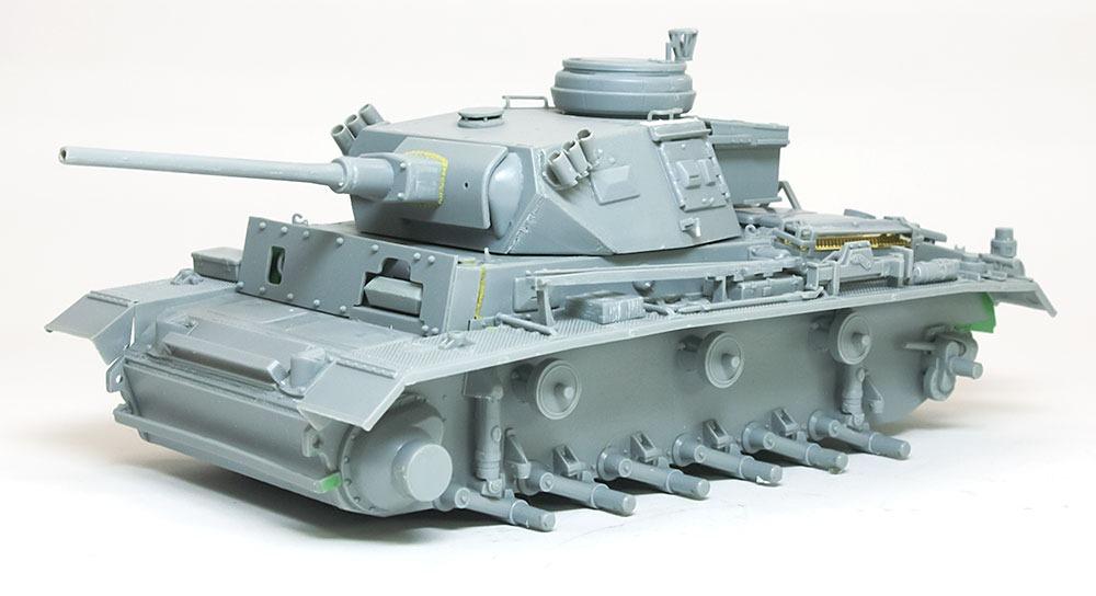 組立て完了 3号指揮戦車K型