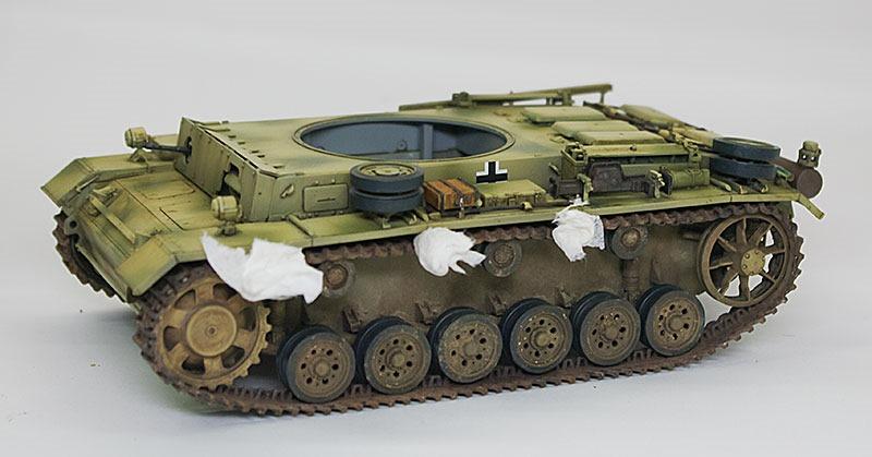 足まわりの組立て 3号戦車M初期型