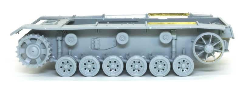 車輪の組立て 3号J型操縦戦車 / ボルグバルド4B型