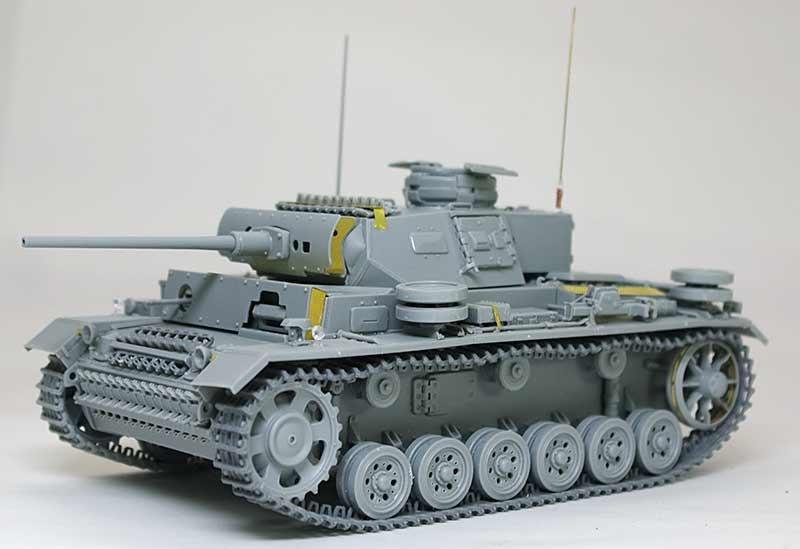組立て完了 3号J型操縦戦車 / ボルグバルド4B型