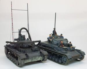 3号潜水戦車と4号潜水戦車