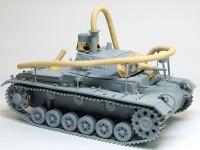 エアホースの取り付け 3号潜水戦車 あしか作戦