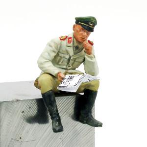 ロンメル将軍フィギュアの塗装