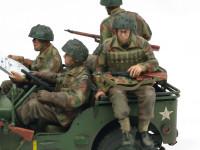 フィギュアの塗装 機関銃を持った兵士