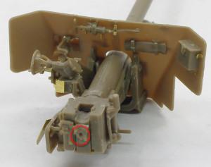 6ポンド対戦車砲の砲尾