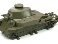 八九式中戦車甲型 砲塔の組み立て