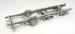 8tハーフトラック 1943年型 シャーシの組み立て