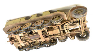 8tハーフトラック 1943年型  車輪の組み付け