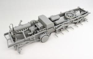 8tハーフトラック Sd.kfz.7 シャーシの組み立て