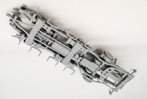 8tハーフトラックSd.kfz.7 シャーシの組み立て