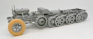 8tハーフトラックSd.kfz.7 車輪の組み立て