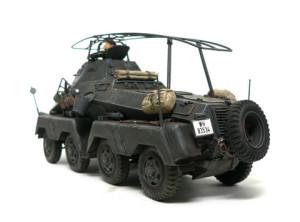 ドイツ・8輪重装甲車 Sd.kfz.232 1/35 タミヤ