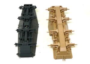 ドイツ・8輪重装甲車の足まわり