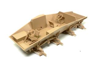 Sd.kfz.243/3 インテリアの組み立て