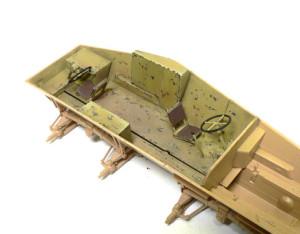 Sd.kfz.234/3 インテリアの塗装年上げ