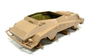 Sd.kfz.234 車体の組み立て