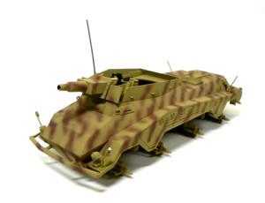 Sd.kfz.234/3 シュトゥメル 迷彩塗装