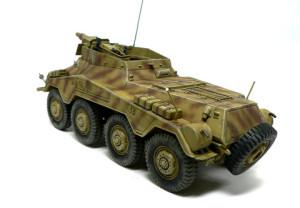 Sd.kfz.234/3 シュトゥメルの仕上げ