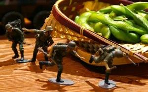 モケ華2008 枝豆の間を突撃するスターリングラードの通信兵