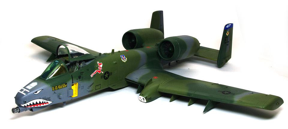 A-10Aサンダーボルト2 細部の塗分け
