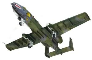 A-10Aサンダーボルト2 脚や 格納庫のウオッシング