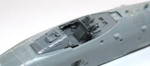 A-10Aサンダーボルト2 レジン製コクピットを仮り組み